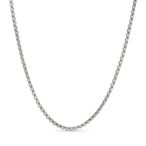 Yurman Link Chain 14k White Gold 3.5mm