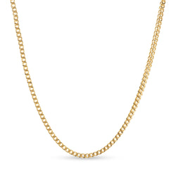 Franco Link Chain 14K Yellow Gold 3.5mm