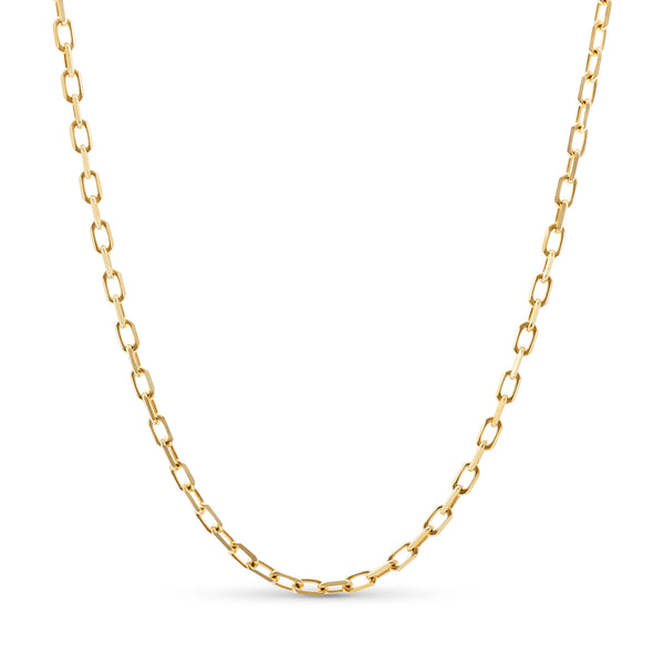 Hermes Link Chain 14K Yellow Gold 4.0mm