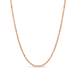 Rope Chain 14K Rose Gold 3.5mm