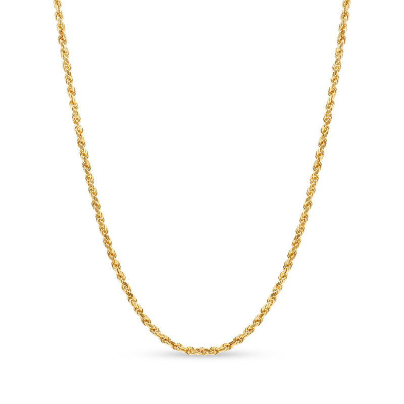 Rope Chain 14K Yellow Gold 3.5mm