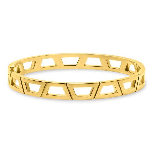 Signature Brick Bracelet 18K Yellow Gold