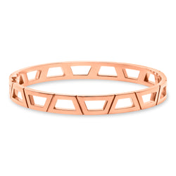 Signature Brick Bracelet 18K Rose Gold