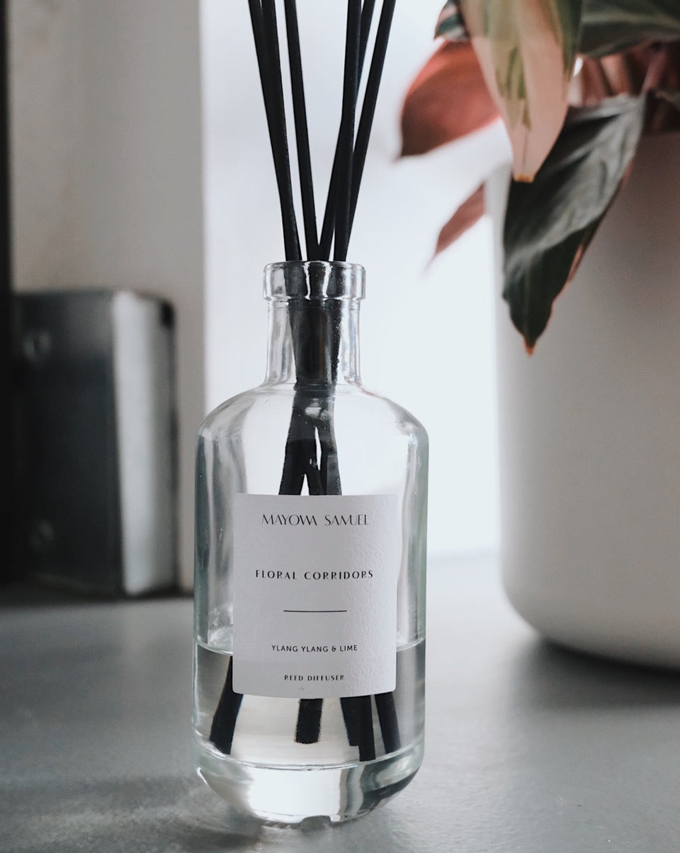 May chang, Eucalyptus & Ginger Essential oil Diffuser - Mayowa Samuel