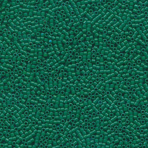 DB0656 - 11/0 Opaque Dyed Green Miyuki Delica Seed Beads DB656 656-Maddiethekat Designs