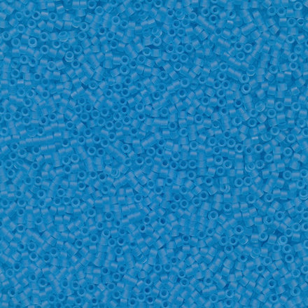 DB0747 - 11/0 Transparent Matte Light Blue Miyuki Delica Seed Beads DB747 747-Maddiethekat Designs