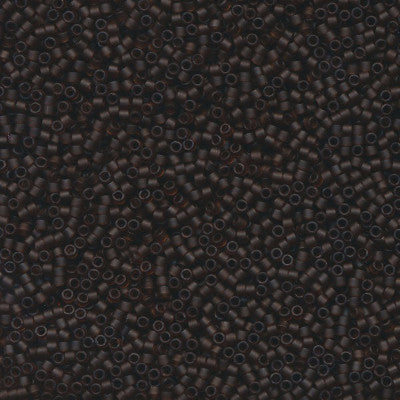 DB0769 - 11/0 Transparent Matte Dark Brown Miyuki Delica Seed Beads DB769 769-Maddiethekat Designs