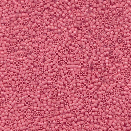 DB2115 - 11/0 Duracoat Opaque Tickle Me Pink Miyuki Delica Seed Beads 2115-Maddiethekat Designs