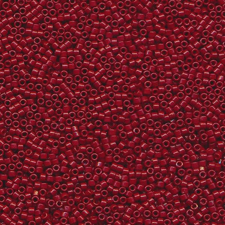 DB2119 - 11/0 Duracoat Opaque Light Maroon Miyuki Delica Seed Beads 2119-Maddiethekat Designs