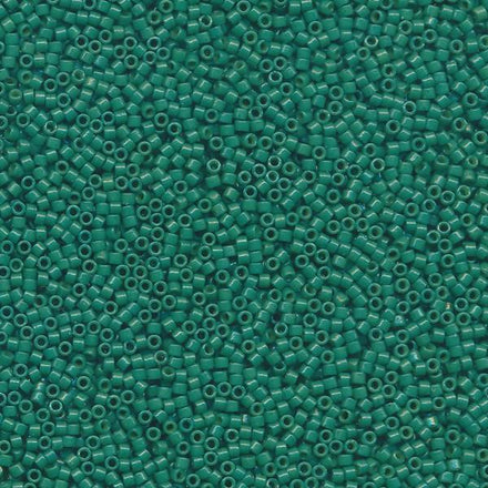 DB2127 - 11/0 Duracoat Opaque Spanish Palms Green Miyuki Delica Seed Beads 2127-Maddiethekat Designs