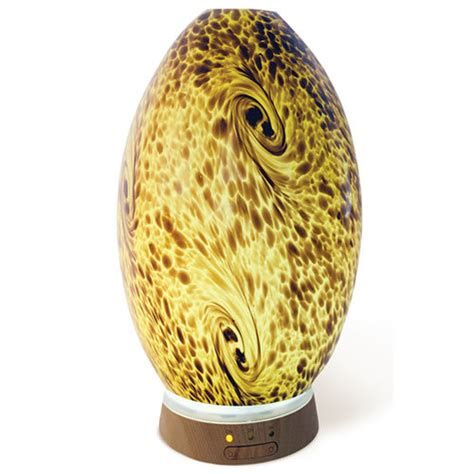 Ultrasonic Hand-blown Glass Diffuser - Amber
