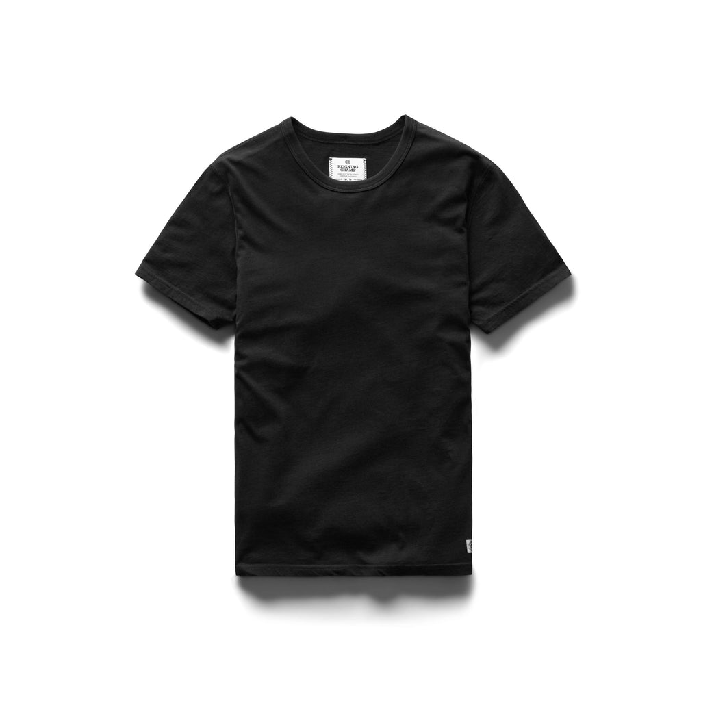 2 PACK T-SHIRT BLACK