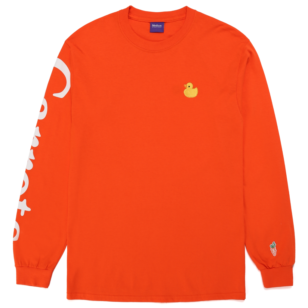 DUCK LONG SLEEVE - ORANGE