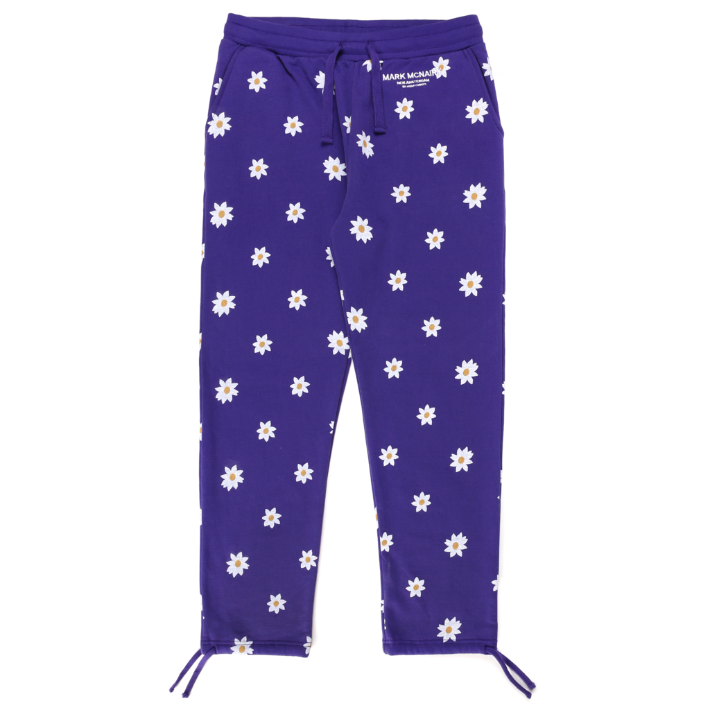 ALL OVER DAISY WORDMARK SWEATPANTS