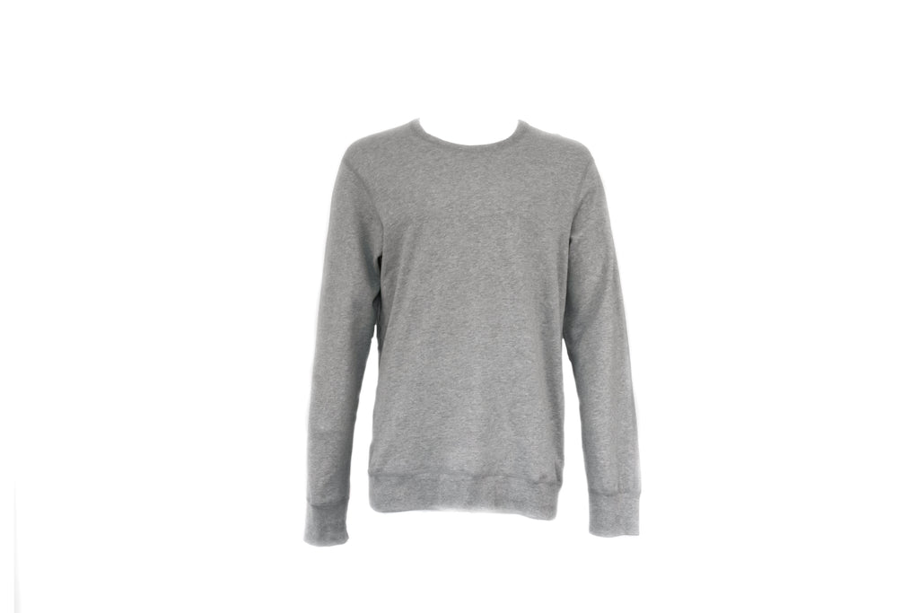 Reigning Champ Long Sleeve Crewneck in Heather Grey