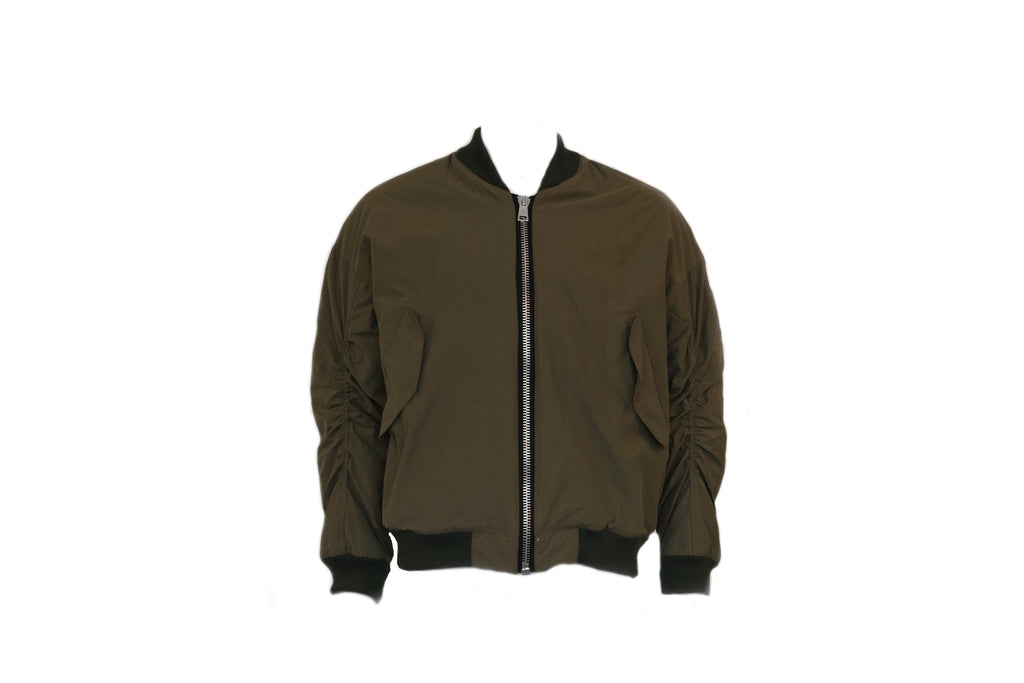 Represent Essential Bomber in Matte Olive