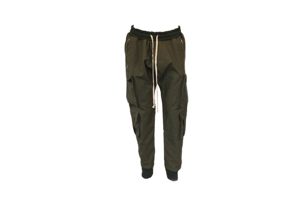 Represent Military Pants in Olive