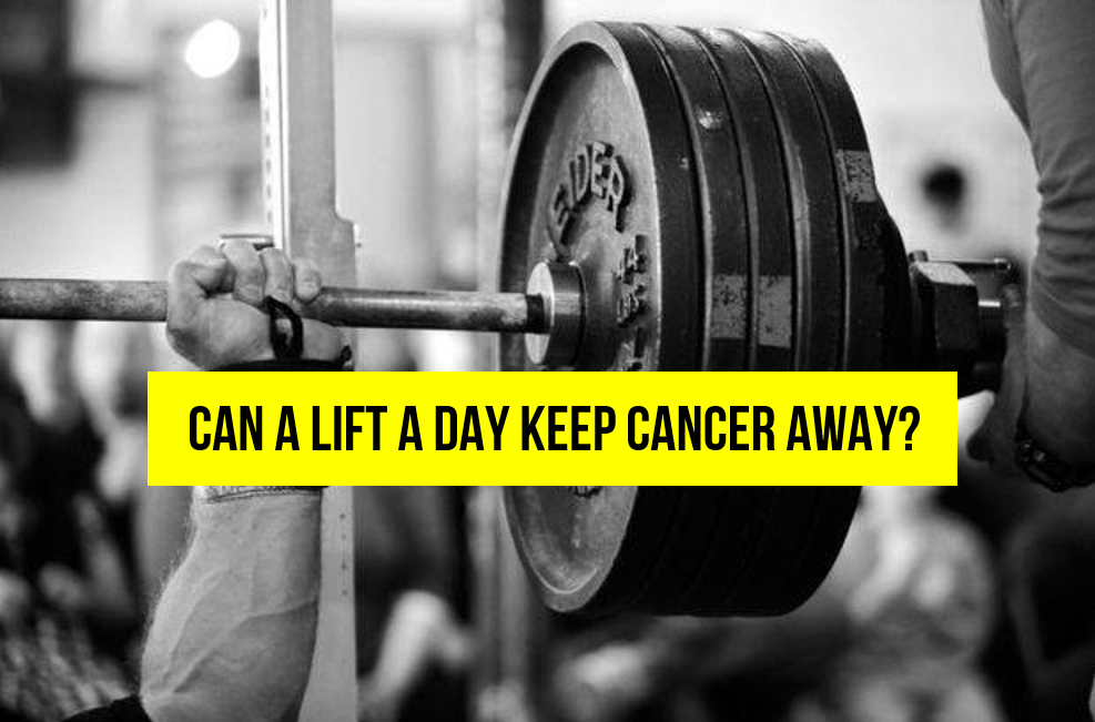 The Surprising Anti-Cancer Effect of Lifting Weights