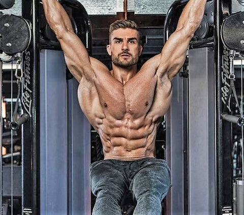 Do the hanging leg raise for six pack abs