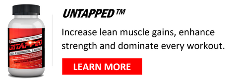 Untapped boosts muscle gains from training and promotes endurance