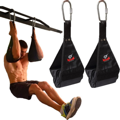 How to use ab straps or slings to build abs