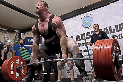 look up during your deadlift