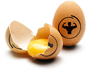 Whole eggs build muscle better than egg whites