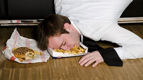 Sleeping Immediately After a Meal Reduces its Muscle-building effect
