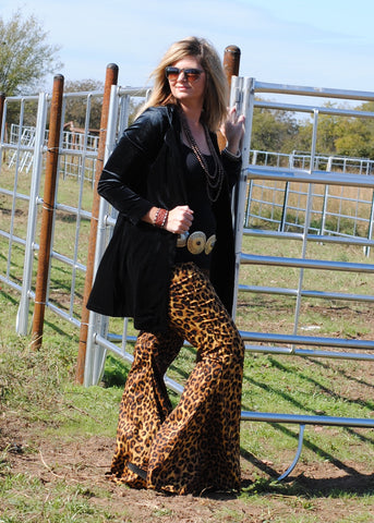 Leopard Bells - Rolling Ranch Boutique