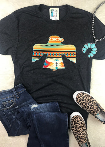 Aztec Thunderbird Tee - Rolling Ranch Boutique