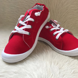 SALE PRICED Summer Sneakers | Red *Final Sale*