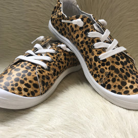 SALE PRICED Summer Sneakers | Leopard *Final Sale*