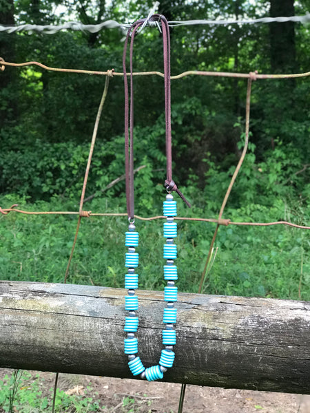 Cream of the Crop Necklace | Turquoise - Rolling Ranch Boutique
