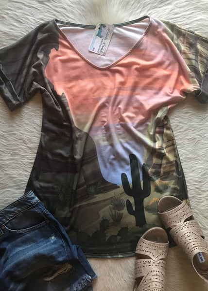 All Over Cactus - Rolling Ranch Boutique