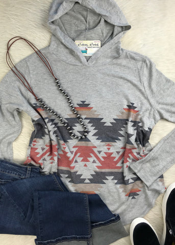 Oh So Soft Hoodie | Aztec - Rolling Ranch Boutique