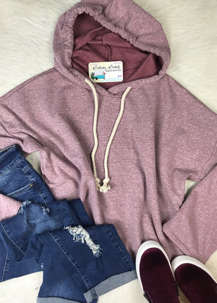 Marbled Retro Hoodie | Sage, Pink, Charcoal - Rolling Ranch Boutique