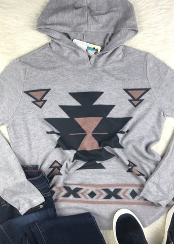 Oh So Soft Hoodie | Aztec Deuce - Rolling Ranch Boutique