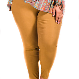 Super Stretch Skinnies | Harvest Gold | Small to 3X *Final Sale*