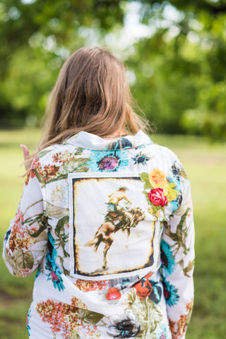 Floral Bronc - Rolling Ranch Boutique