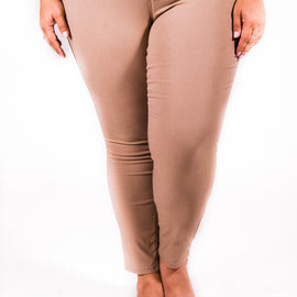 Super Stretch Skinnies | Tea Leaf Tan | Small to 3X *Final Sale*