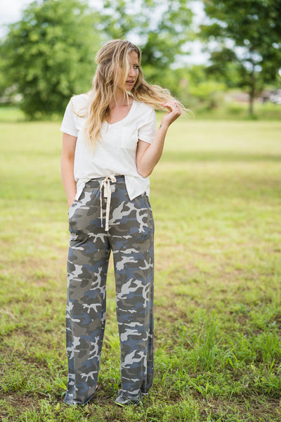 Headed to the Rodeo Lounge Pants | Camo - Rolling Ranch Boutique