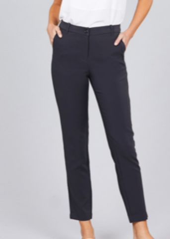 Classic Ankle Pants | Charcoal - Rolling Ranch Boutique