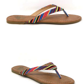 Serape Flip Flop *Final Sale*