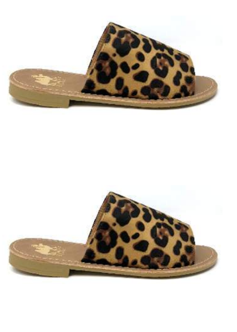 The Sahara Slide On | Leopard