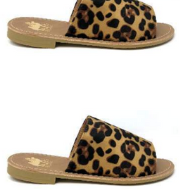 SALE PRICED The Sahara Slide On | Leopard *Final Sale*