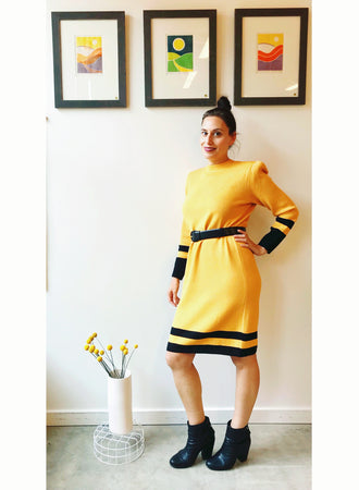 Vintage St. John knit dress