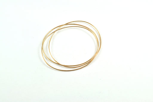 Gold-filled bangle set