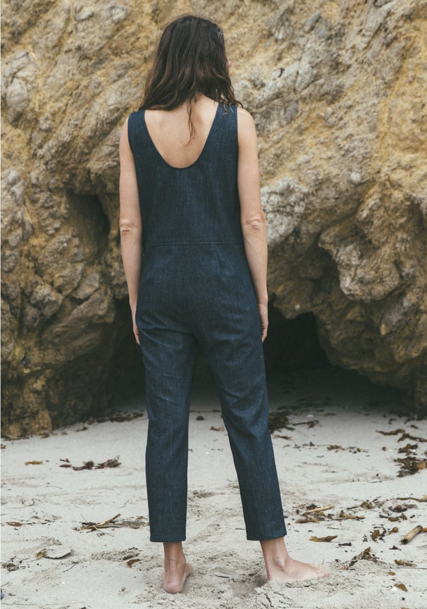 Ozma raw denim coverall