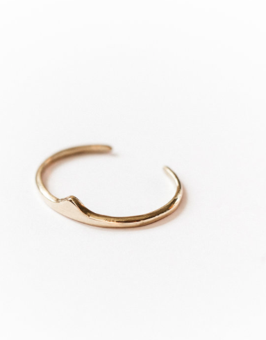 Bridge brass cuff