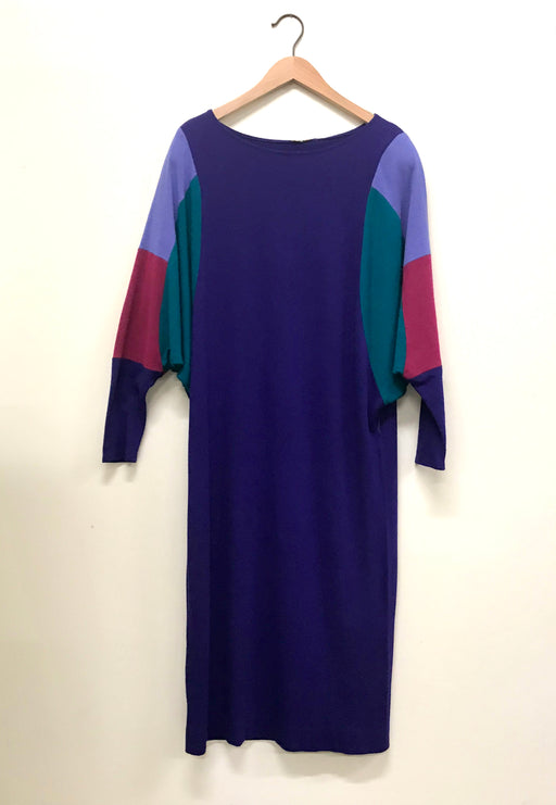 Vintage color blocked dress